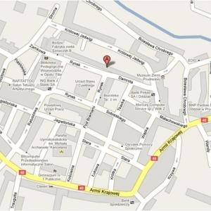 Prudnik lokal na wynajem 128 mkw mapa 002